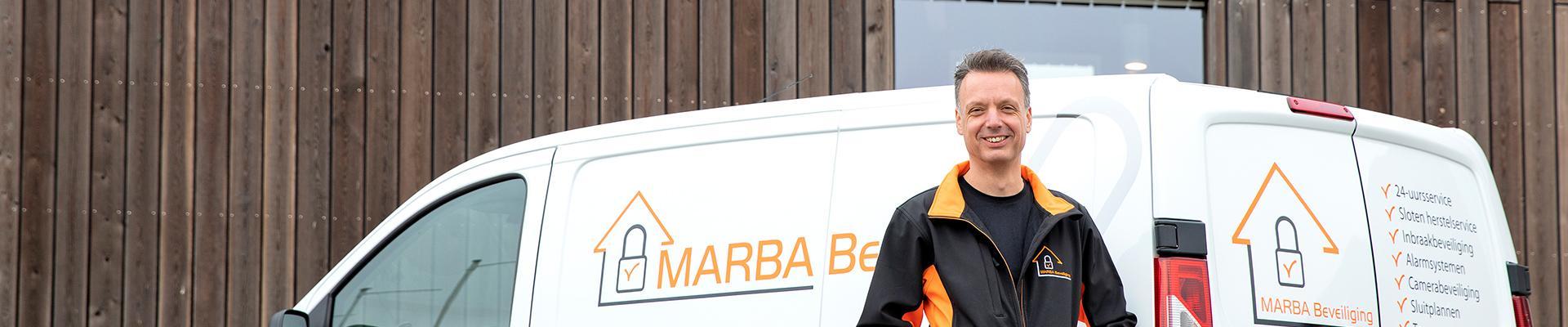 MARBA Beveiliging slot kapot